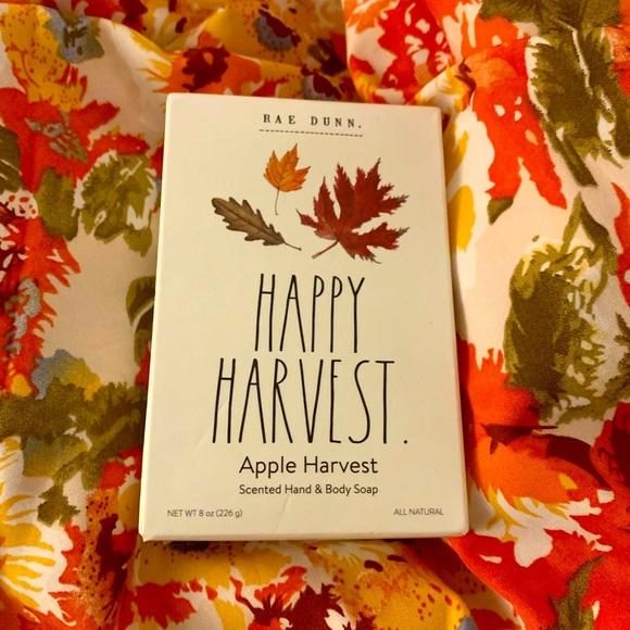 RAE DUNN Happy Harvest Bar Soap